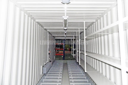 40ft Bunded Ink Storage Container Liverpool
