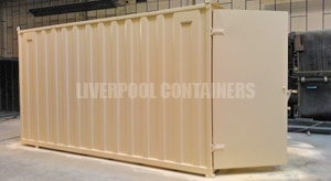 16ft Custom Containers Liverpool
