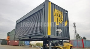Roller Shutter Containers Liverpool
