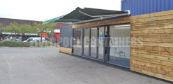 Container Awning Options Liverpool