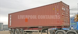 High Cube Specialised Container Liverpool