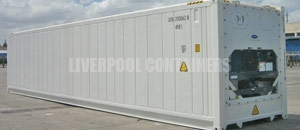 Refrigerated Reefer Container Liverpool