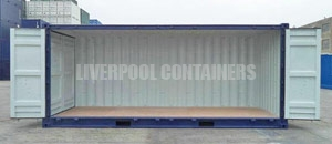 Side Opening Specialised Container Liverpool